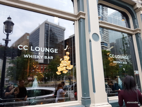 CC Lounge and Whisky Bar storefront