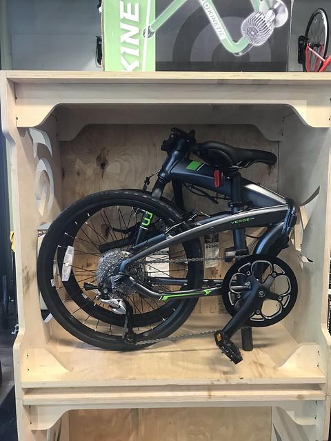 folded Tern bicycle