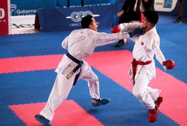 Primer oro del karate en Barranquilla 2018