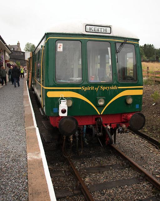 2018 Scotland day 08-04 Keith Station train