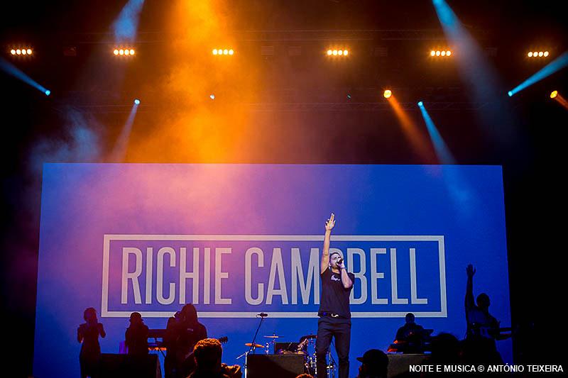Richie Campbell - MEO Marés Vivas 2018