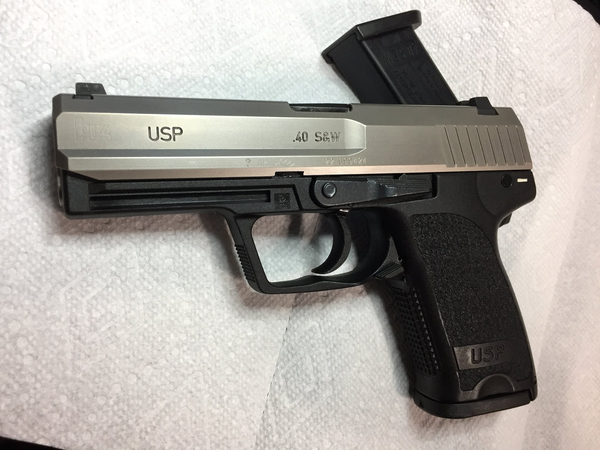 Picked up a police trade-in HK USP 40 V7    - Page 3