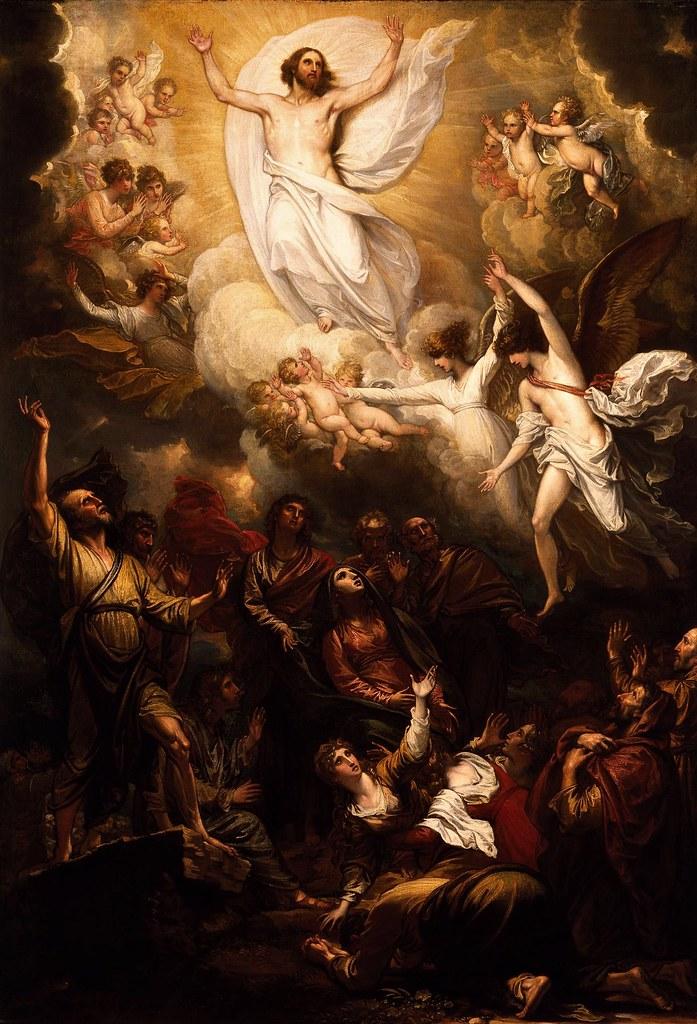 Benjamin West - The Ascension (1801)