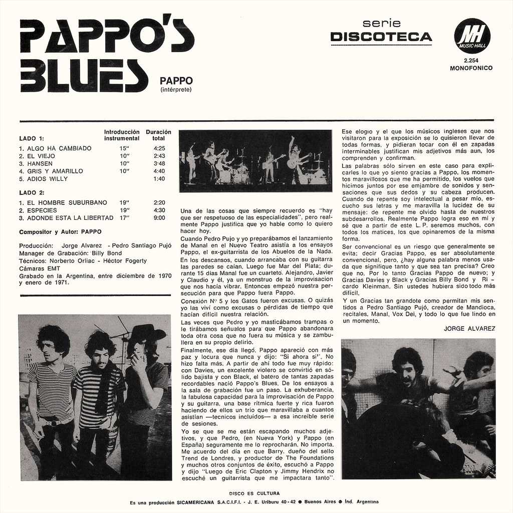 Pappo's Blues, Vol. 1