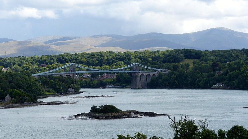 This is a picture of the menai bridge