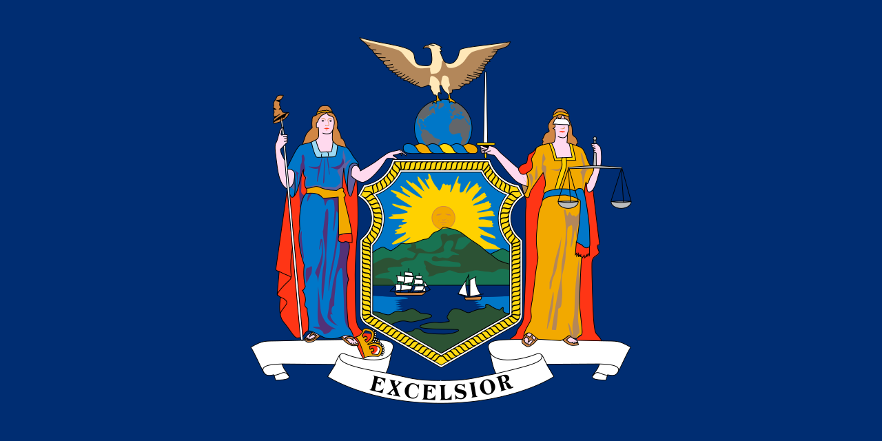 Flag of New York State