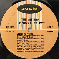 THE METERS:LOOK-KA PY PY(LABEL SIDE-A)