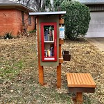 Little Free Library #49875 & bench