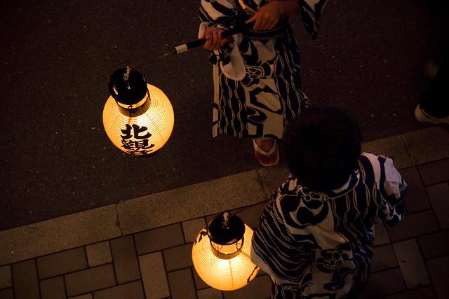 祇園祭 後祭 日和神楽