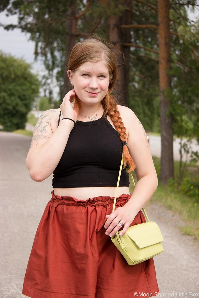 Paivan asu, Zara, vaatteet, marimekko laukku, tyylibloggaaja