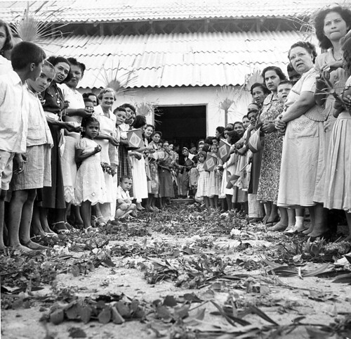 Tapete de flores para Getúlio Vargas
