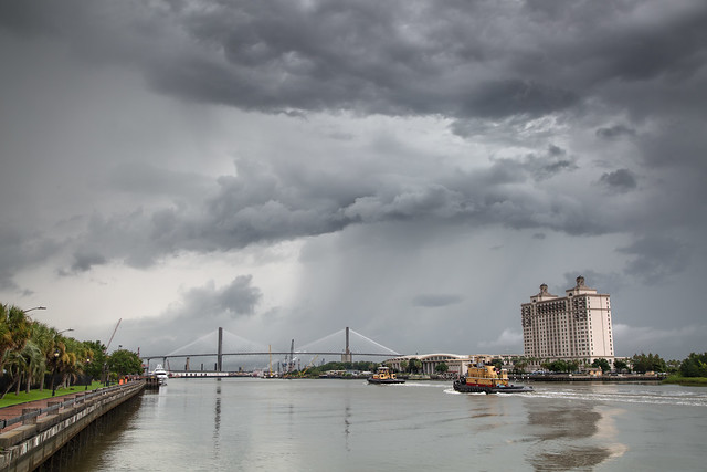 Storm Over the Savannah River