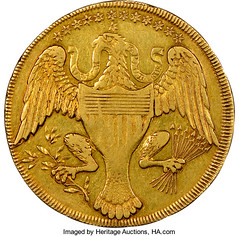 1792 Washington Gold Eagle Pattern reverse