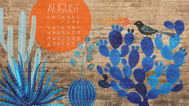 August '18 desktop