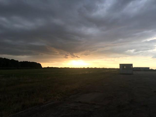Sunset in Prestwold