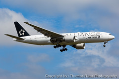 United Airlines, N78017 : Star Alliance