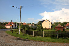Ciasna village