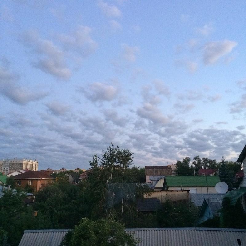 Июльское небо одно на двоих