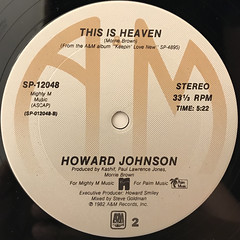 HOWARD JOHNSON:SO FINE(LABEL SIDE-B)