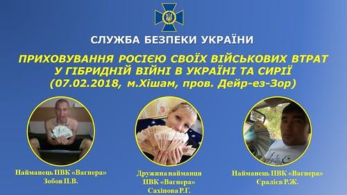 Росія приховує від суспільства розміри військових втрат у гібридній війні в Україні та Сирії - СБУ
