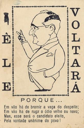 Cartaz da campanha de Getúlio Vargas