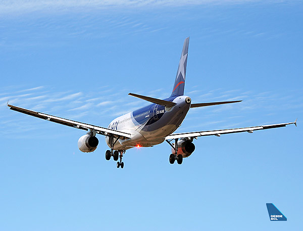 LAN Airbus A320 app beacon (RD)