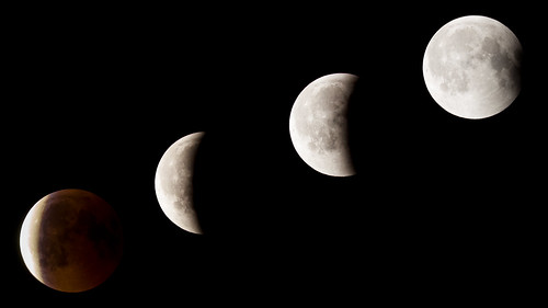 2018 Lunar Eclipse Phases