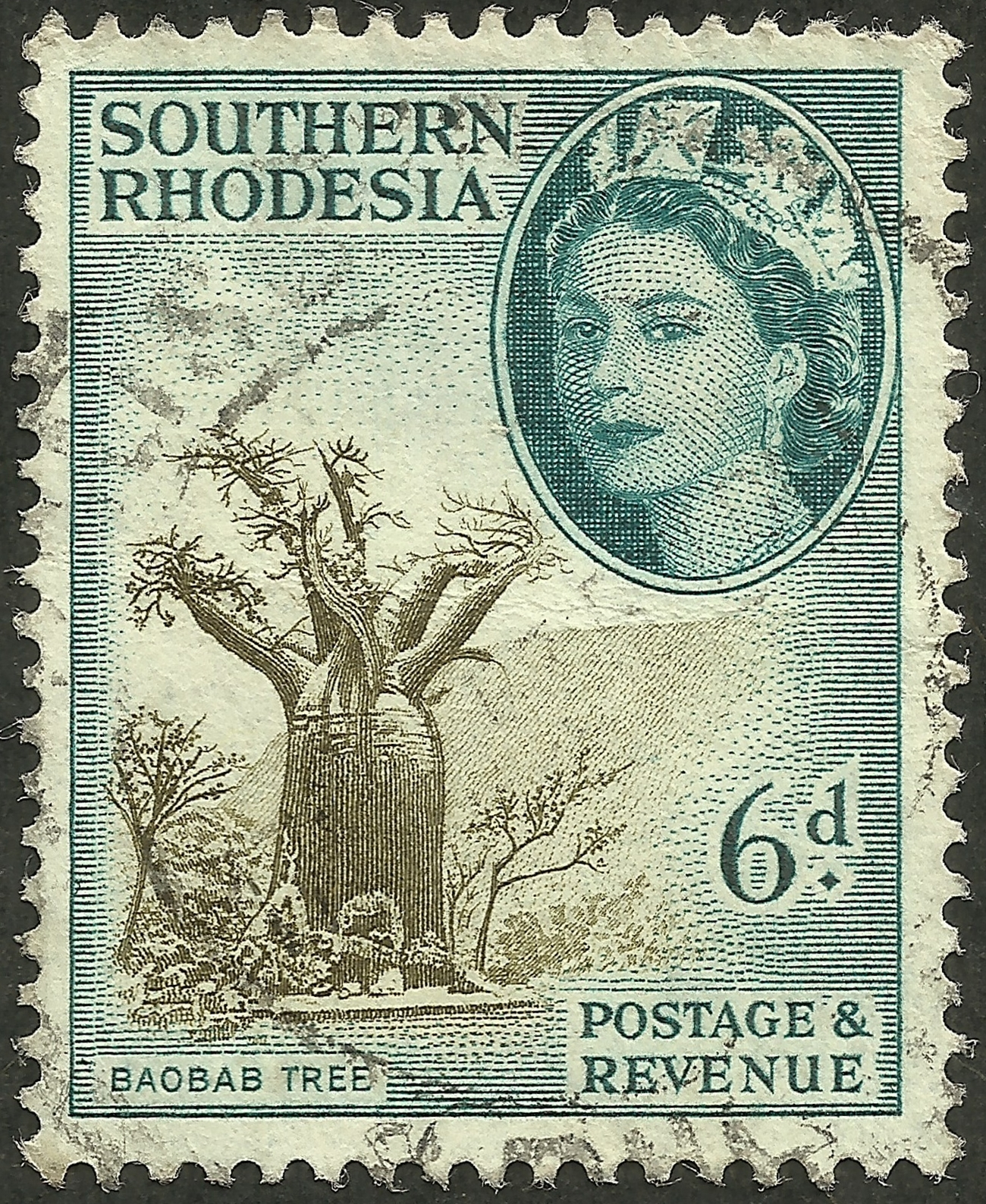 Southern Rhodesia - Scott #87 (1953)