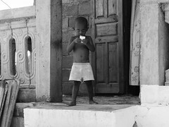 Portrait d'un enfant Mahorais