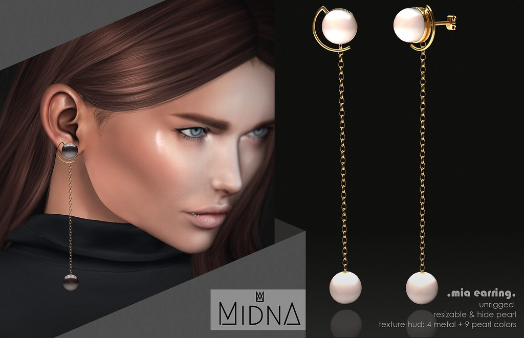 Midna - Mia Earrings - TeleportHub.com Live!