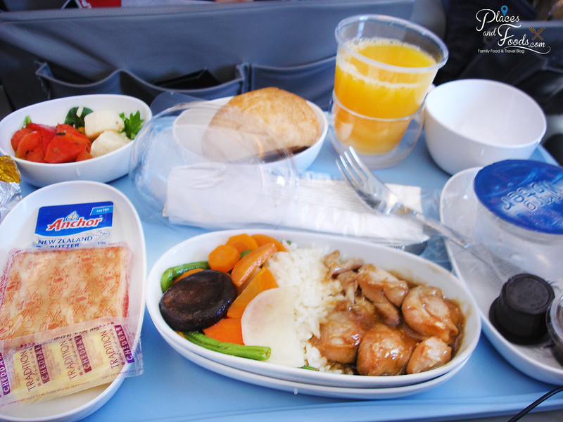 singapore airlines SQ 21 food