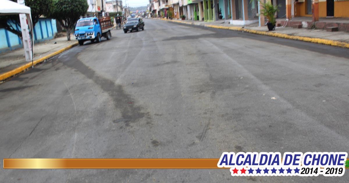 Calles limpias después de las fiestas