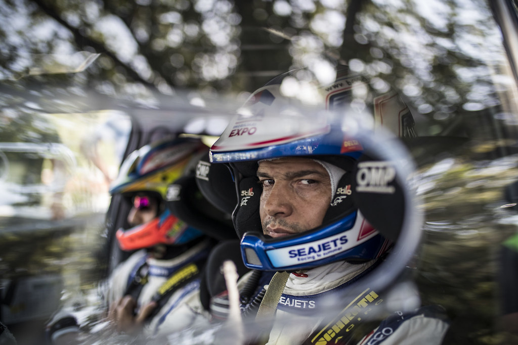 MAGALHAES Bruno (POR), Hugo Magalhaes (POR), SKODA FABIA R5, during the 2018 European Rally Championship ERC Rally di Roma Capitale,  from july 20 to 22 , at Fiuggi, Italia - Photo Gregory Lenormand / DPPI