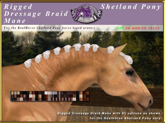 E-RH-Shetland-ManeSet-DressageBraid - TeleportHub.com Live!
