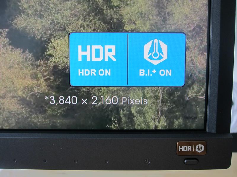EW3270U - HDR/BI+ Button