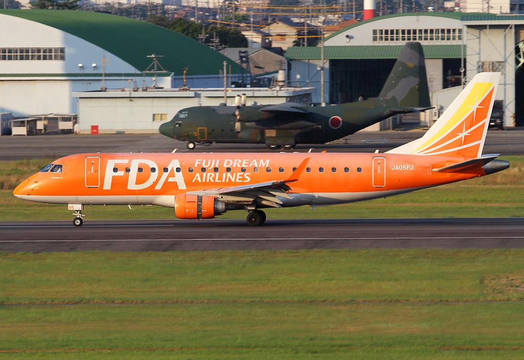 Evening arrival on RWY34 inbound from Fukuoka FUK. Delivered 10/2010.