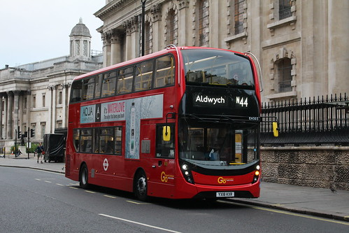 London General EH303 on Route N44, Charing Cross