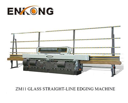 zm11 glass straight line edging machine