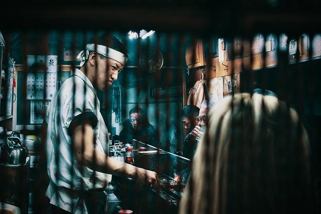 Yakitori shop