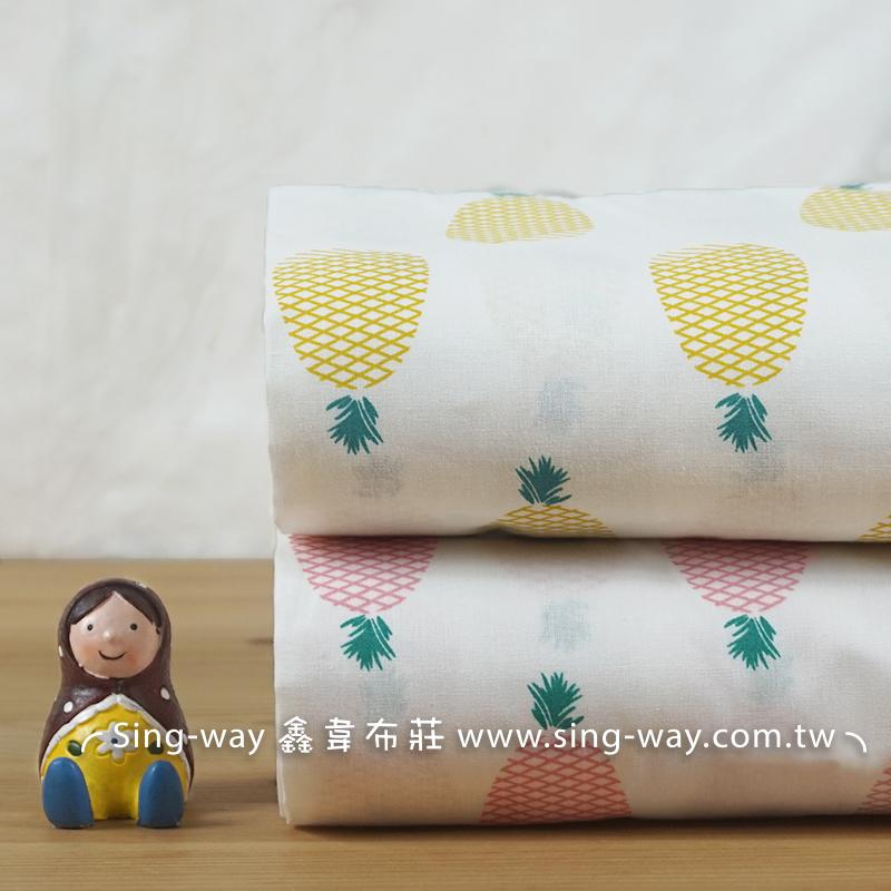 鳳梨 水果 大自然 農作物 洋裝 連身裙 長裙 CH790530