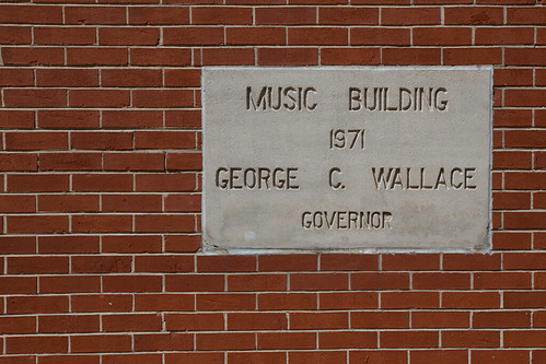 George Wallace shows up a LOT in Alabama