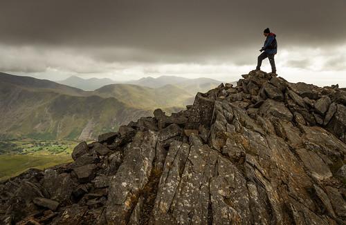 A moody afternoon on Elidir Fawr - Snowdonia - Wales