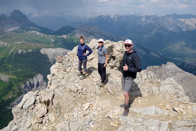 Scrambles - Mt. Bourgeau-9