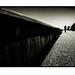 Early Morning Stroll. Cromer, Norfolk. by Paul Greeves