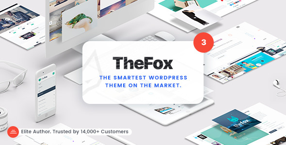 TheFox v3.8.3 - Responsive Multi-Purpose WordPress Theme