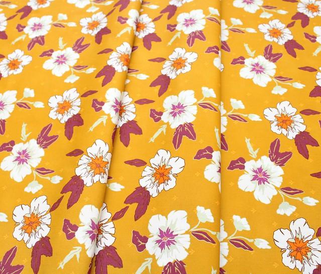 Art Gallery Fabrics Autumn Vibes Autumn Nectar Honey