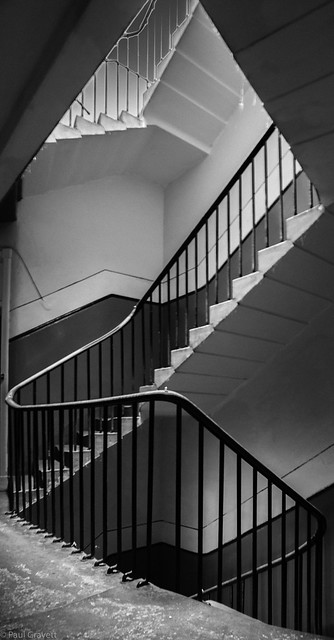 Stairs, Nikon D750, AF Nikkor 20mm f/2.8D