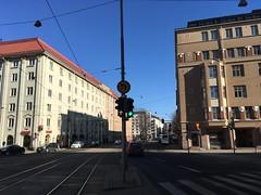 No left turn, straight on arrow