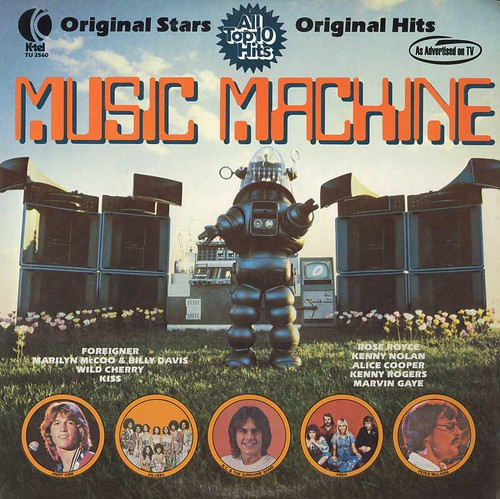 Music Machine Album Cover w/ Robby the Robot