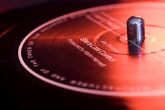 red, macro photography, close-up, compact disc, circle, brand, black, gramophone record,